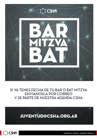 Agenda Bar y Bat Mitzva
